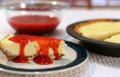 Cheesecake de fresa fácil