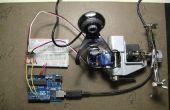 Frente a la detección y seguimiento con Arduino y OpenCV