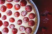 FRESAS y crema TART (tarta de fresa)