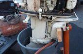 Cómo probar y motor fuera de borda en tierra