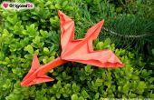 Tutorial de Dragon de Origami fácil