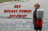 Los niños Super cohete de ciencia ficción alimentada Jet Pack hecho por unos centavos!
