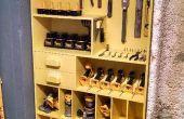 Estante organizador de herramientas