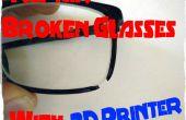 Reparación de vidrios rotos con impresora 3D - HowTo