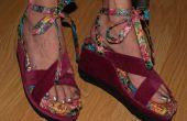Flip Flop cuña curado zapatos