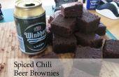 Spiced Brownies de cerveza de Chile