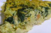 Quiche de espinacas vegano con corteza de Basmati marrón