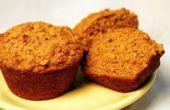 """""""Stealth salud"""" Muffins de calabaza (sin huevo, con una versión vegana, también!)"""
