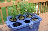 Fase 1 de jardinera hidropónica: partes