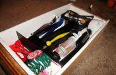 Organizadores de cajón DIY de papel cartón y contacto