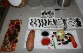 Cómo pintura con verduras