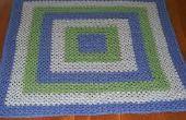 Cómo crear una manta de cuadrados Granny multicolor