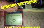 Nivel de burbuja electrónico Arduino Micro