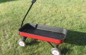 Acabado su wagon Radio Flyer antiguo