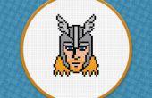 Thor - PDF gratis punto de cruz patrón