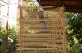 Bambú pinchos fiesta/lámpara del jardín