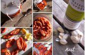 Horno de secado de tomates