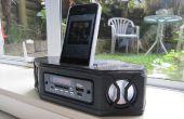 3D impreso altavoz portátil estéreo Bluetooth
