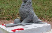 """Talla de piedra: """"Héroes olvidados"""", reparación para día del recuerdo"""