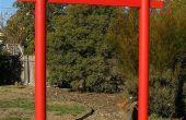 Construir una puerta Torii japoneses para su jardín
