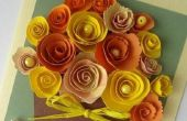 Técnica quilling: ¿Cómo hacer una linda tarjeta de felicitación?