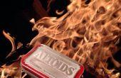 Altoids supervivencia fuego a partir de Tin