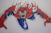 Cómo dibujar Spiderman Zombie