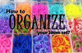 ¿Cómo organizar el juego de telar?