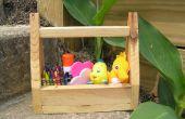 Caja de herramientas infantil: ideal para armados con juguetes y herramientas