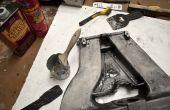 Quitar la capa del polvo de aluminio