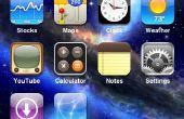 Cómo a instalar temas en un jailbreak iPhone o iPod Touch