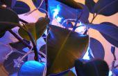 Contador Geiger activa LED decoraciones