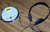 Cargar las baterías del reproductor de CD sin necesidad de abrir la tapa
