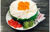 Cómo hacer un pastel de cumpleaños de Ikura Sushi
