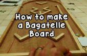 Cómo hacer un tablero de Bagatelle