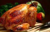 Delicioso pollo asado receta