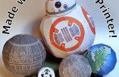 Globos, pelotas y los Robots de una impresora de escritorio!