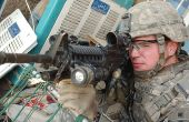 Escuela de hombre rifle airsoft básicas
