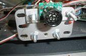 Conexión electrónica a piezas del Erector Set con adaptadores de lasercut