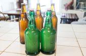 Cerveza casera de jengibre con levadura silvestre