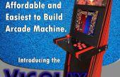 Una Super máquina de Arcade fácil de 1 hoja de madera contrachapada