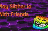 Jugar Slither.io con amigos