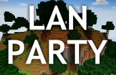 Configuración de la parte de Minecraft LAN
