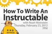 Aprender a elaborar y publicar un Instructable en el TechShop San Jose