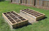 Plataforma libre levantó jardín cama