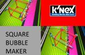 Fabricante de burbuja cuadrados K'nex