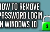 Cómo desactivar la contraseña de inicio de sesión en Windows 10