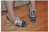 Zapatos de lona pintado personalizado