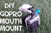 Cómo hacer un montaje de boca de GoPro