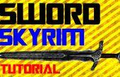 Cómo hacer una espada en la vida Real Skyrim